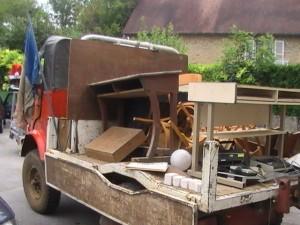 Même le camion de Jean-Claude Limat était de la fête