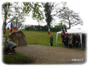 Cérémonie Commandant Foucaud 2015 - Photo : Eric BIGORNE