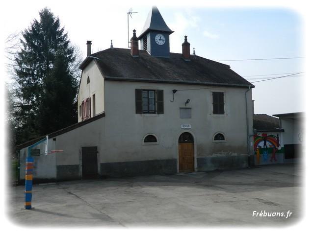 l'Ecole de Frebuans - Photo : Eric BIGORNE