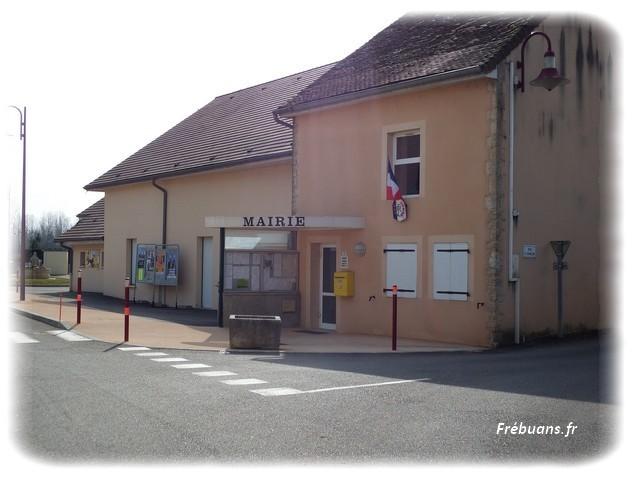 Mairie de Frebuans - Photo : Eric BIGORNE