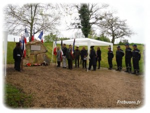 Cérémonie Commandant Foucaud 2016 – Photo : Eric BIGORNE
