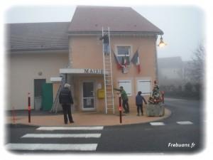 La Décoration de la Mairie - Photo : Clémence BIGORNE