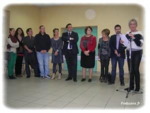 Les vœux du Maire - Photo : Jean Claude BAUD