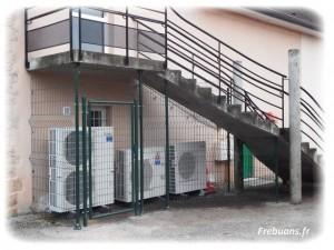 Securisation Chauffage Salle des Fetes– Photo : Eric BIGORNE